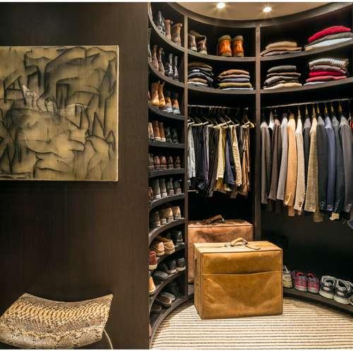 Mens closet fashion menswear organising